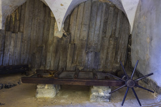 Torture chamber in the castle's Granary